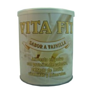 Malteada con delicioso sabor a vainilla