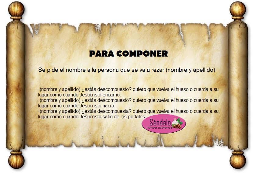 PARA COMPONER